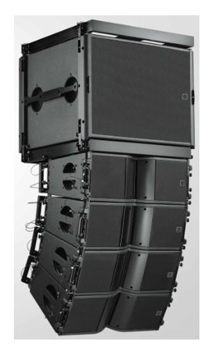 loa line array tốt