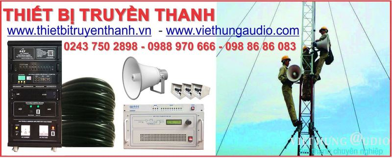 lắp đặt hệ thống truyền thanh giá rẻ nhất