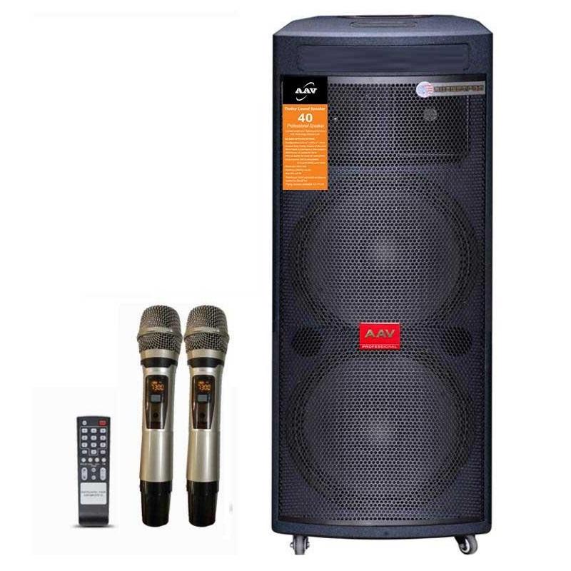 loa active đôi bass chất lượng cao cho dàn âm thanh hội trường cơ động