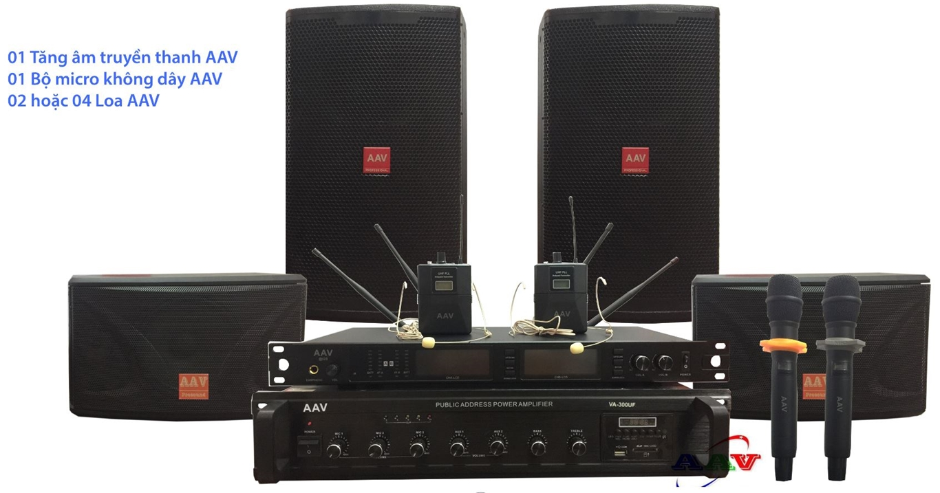 hệ thống âm thanh trường học chất lượng cao