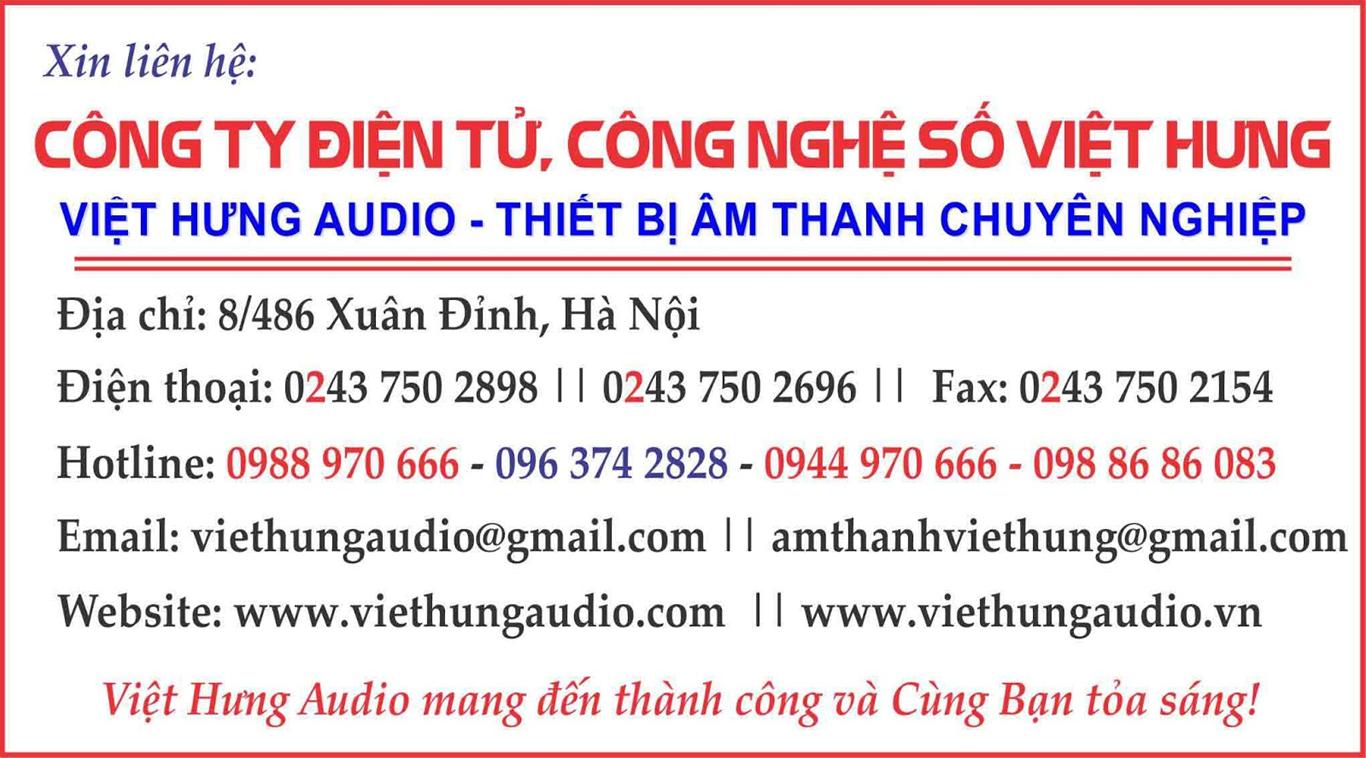 Việt Hưng Audio chuyên lắp đặt karaoke chuyên nghiệp
