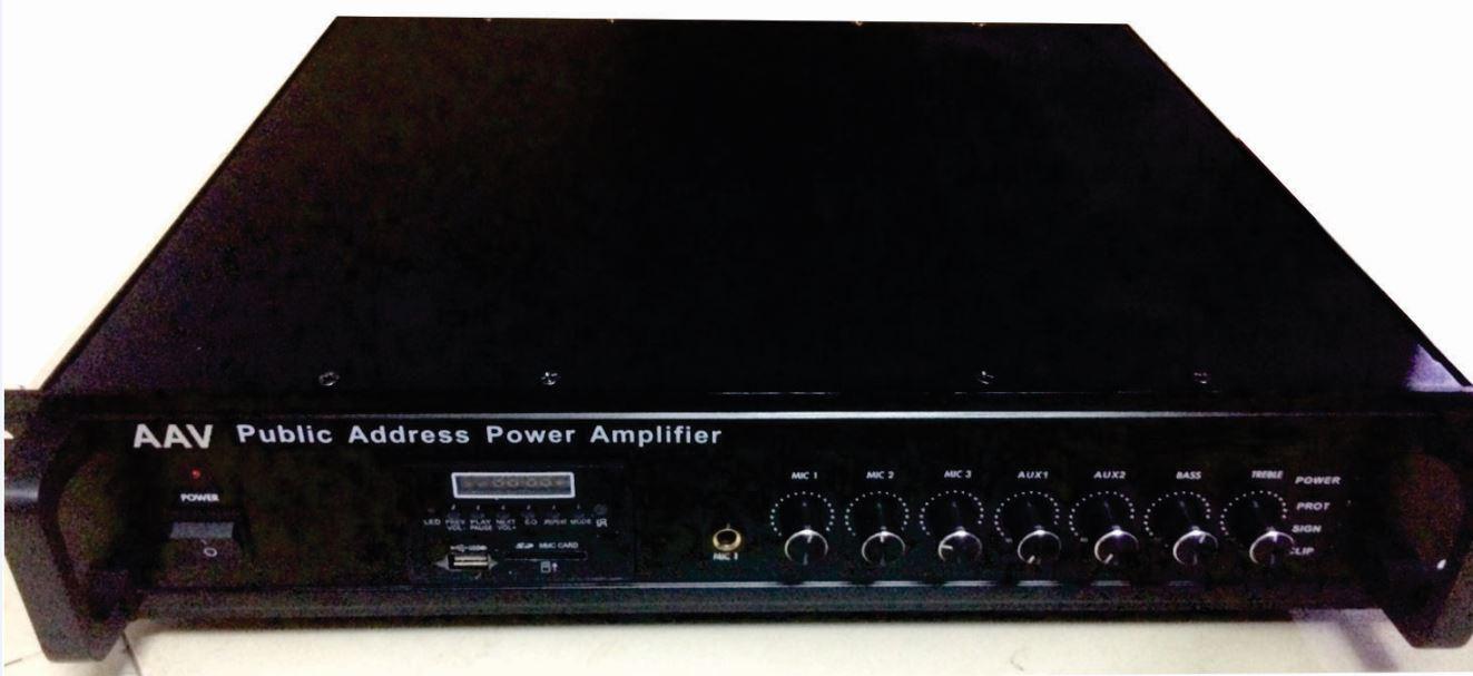 Tăng âm truyền thanh AAV