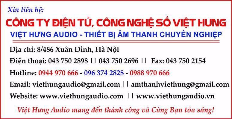 Việt Hưng Audio chuyên cung cấp các sản phẩm mixer công suất đèn