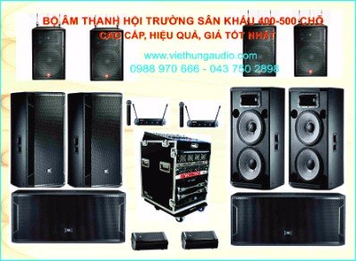 Âm thanh hội trường - sân khấu