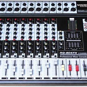 MIXER Console NANOMAX RQ – 804FX ÂM THANH CHUYÊN NGHIỆP