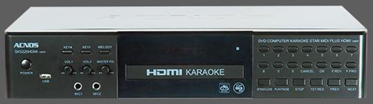 Đầu Acnos Sonca Star MIDI Plus SK5220HDMI – Đầu Karaoke chất lượng cao, giá tốt nhất Hà Nội