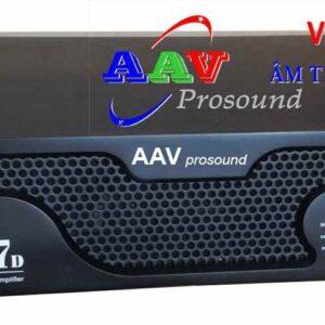 Cục đẩy công suất AAV K7D chính hãng cho chất lượng âm thanh tốt