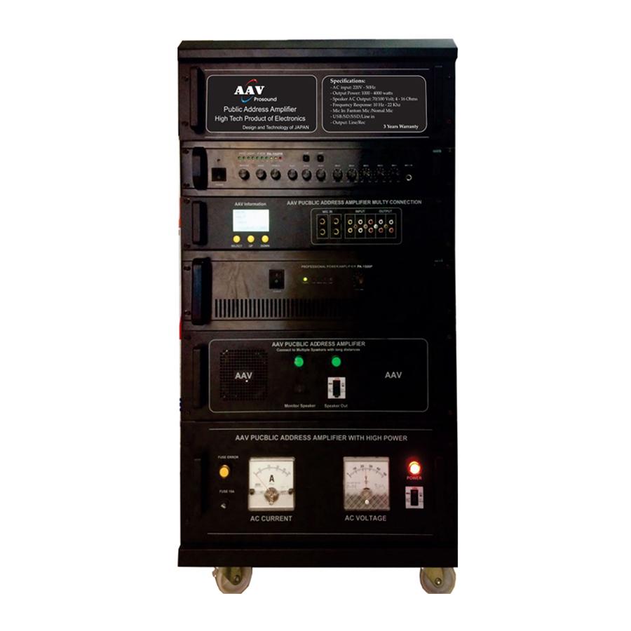 Tăng âm truyền thanh 2000W chuẩn sử dụng tốt nhất cho truyền thanh huyện, xã, các đơn vị bộ đội, công an
