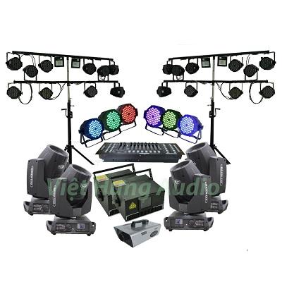 Hệ thống ánh sáng sân khấu chuyên nghiệp cho hội trường nhà văn hóa huyện