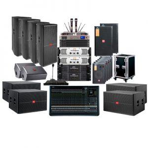 Hệ thống âm thanh dùng loa Full cho hội trường, nhà văn hóa tỉnh ủy