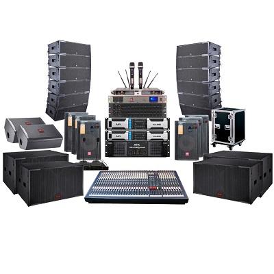Hệ thống âm thanh dùng Loa Line Array cho trung tâm tổ chức sự kiện, nhà văn hóa tỉnh ủy