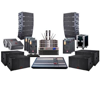 Hệ thống âm thanh cho nhà văn hóa tỉnh ủy dùng loa Line array active