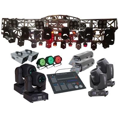 Hệ thống ánh sáng sân khấu trung tâm tổ chức sự kiện, nhà văn hóa cấp tỉnh