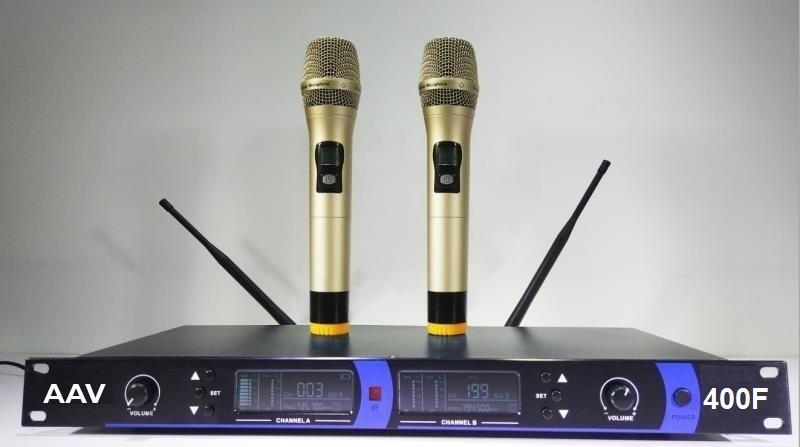 Micro không dây VHM-400F micro chuyên nghiệp, giá hợp lý
