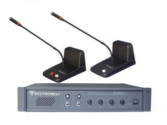 Hệ thống âm thanh hội thảo restmoment chắc chắn, chất lượng âm thanh ổn định, rõ nét, giá tốt