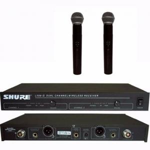Micro không dây Shure LX88-II chất lượng cao chuyên dùng hát karaoke