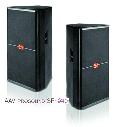 Loa AAV SP-940 – dòng loa hội trường, sân khấu chất lượng cao