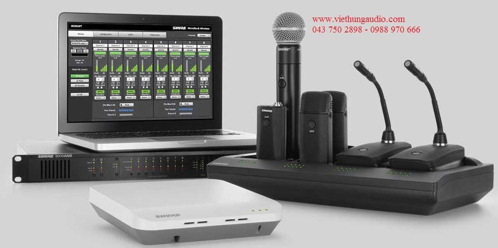 Hệ thống âm thanh hội thảo Shure chất lượng – uy tín  nhất Việt Nam