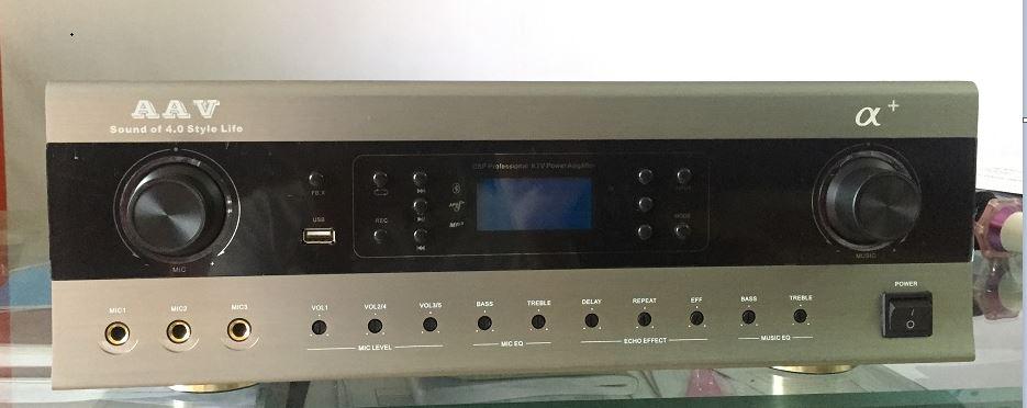 Ampli Karaoke chuyên nghiệp AAV -α giá rẻ nhất