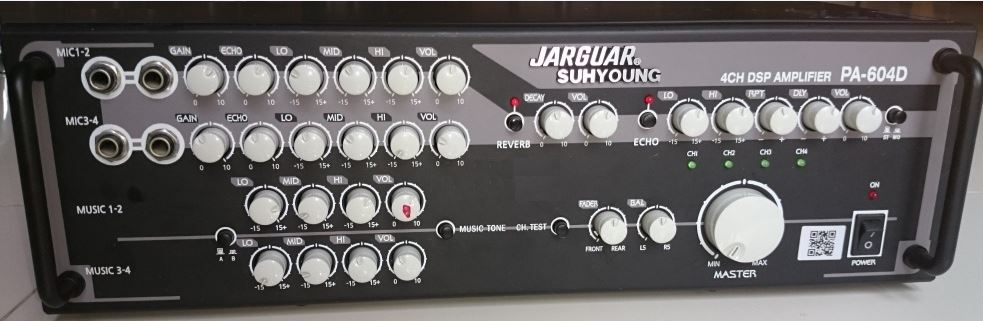 Amply Jarguar Suhyoung PA- 604D