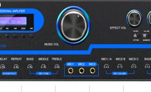 Ampli Karaoke AAV  BK-2000