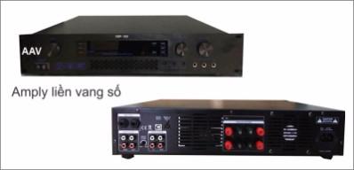 Amply karaoke chất lượng cao, hát hay nhất trên thị trường hiện nay, Amply liền vang số AAV-DSP350; AAV-DSP400