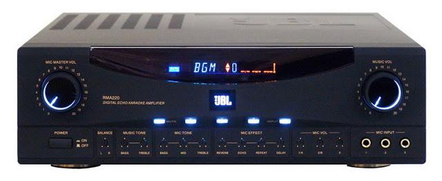 Amply JBL RMA-330 – Amply chuyên dùng cho nghe nhạc chất lượng cao