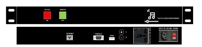 Bộ mã hóa âm thanh AAV-V9110 chất lượng cao an toàn bảo mật