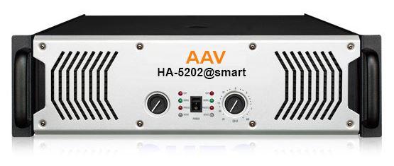 Đẩy công suất 2 kênh x 1600W AAV A-5202