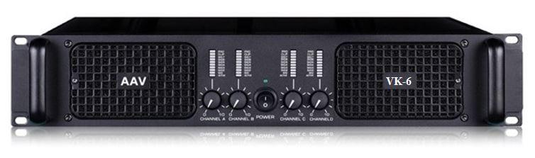 Đẩy công suất 4 kênh x 600W AAV VK6