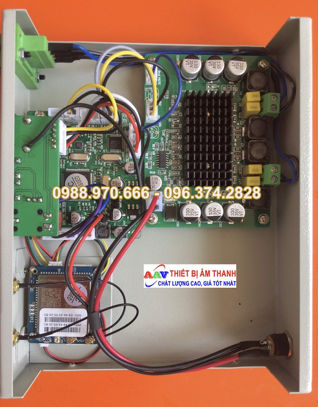 Bộ thu truyền thanh internet AAV-9800