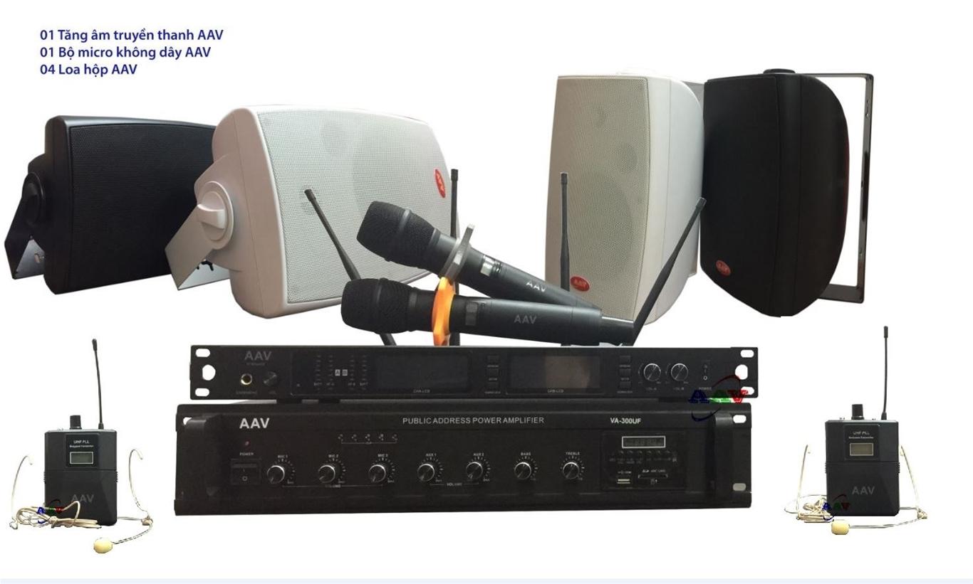 Hệ thống âm thanh trường học đa năng, tiện nghi, hiện đại