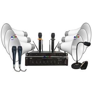 Dàn âm thanh thông báo thôn – xóm chuẩn, độ bền cao, giá rẻ