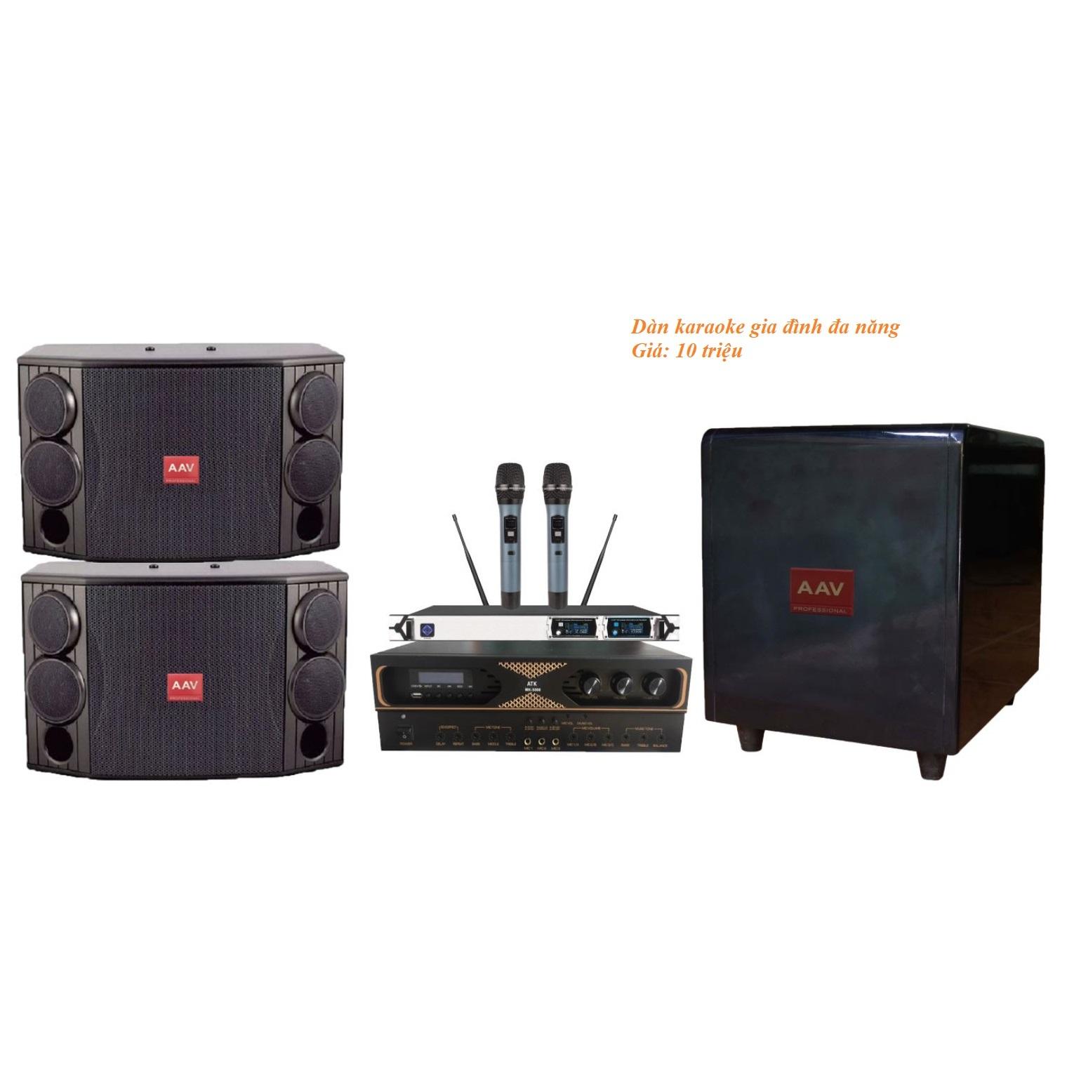 Dàn karaoke gia đình giá 10 triệu VN18