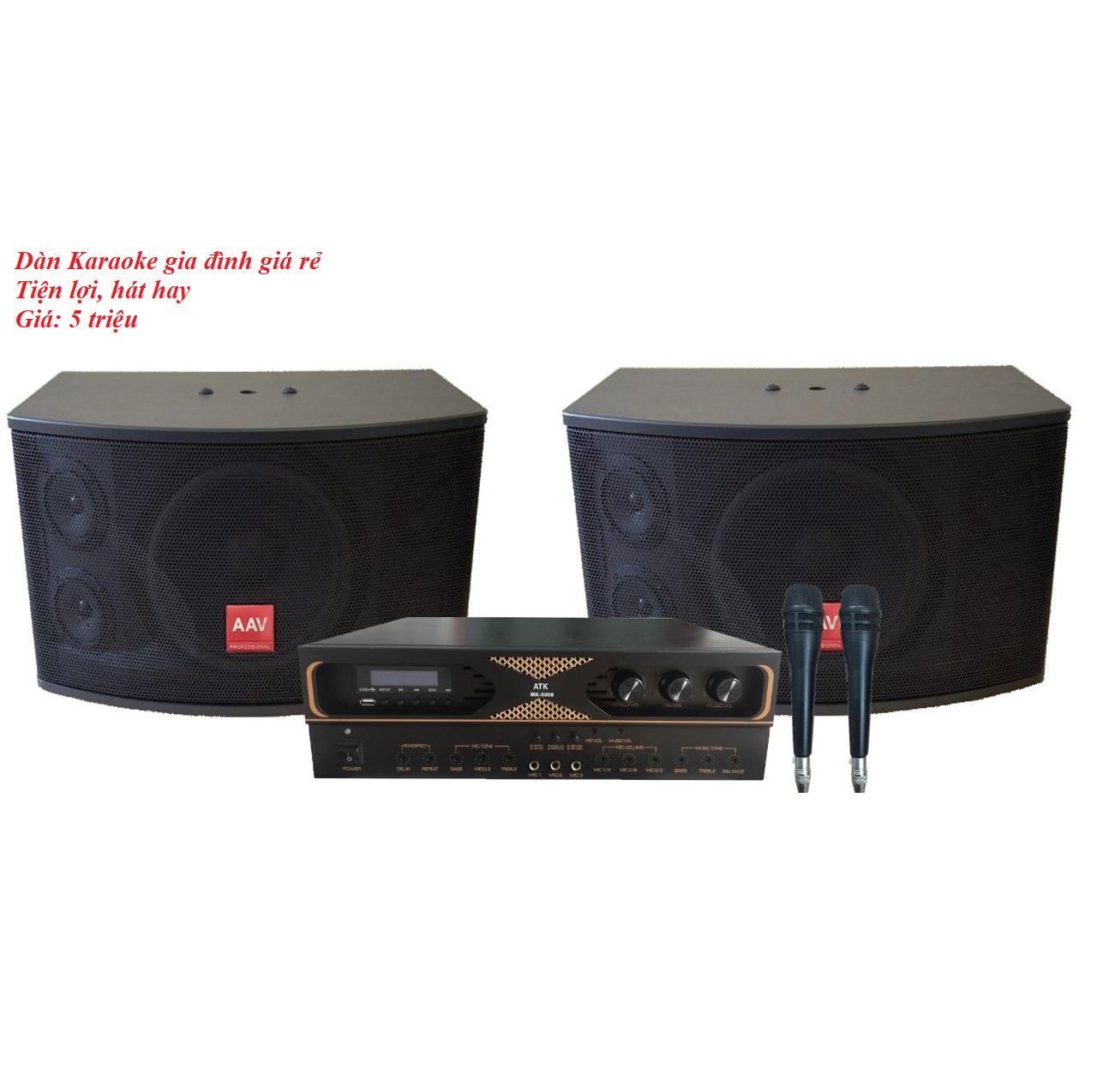 Dàn karaoke gia đình giá rẻ, hát hay VN16
