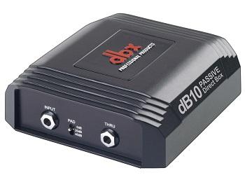 DBX dB10 – Passive Direct Box