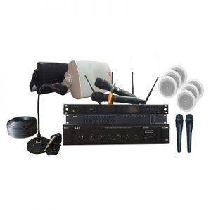 Hệ thống âm thanh thông báo trường học hiện đại, chuyên nghiệp, chất lượng cao