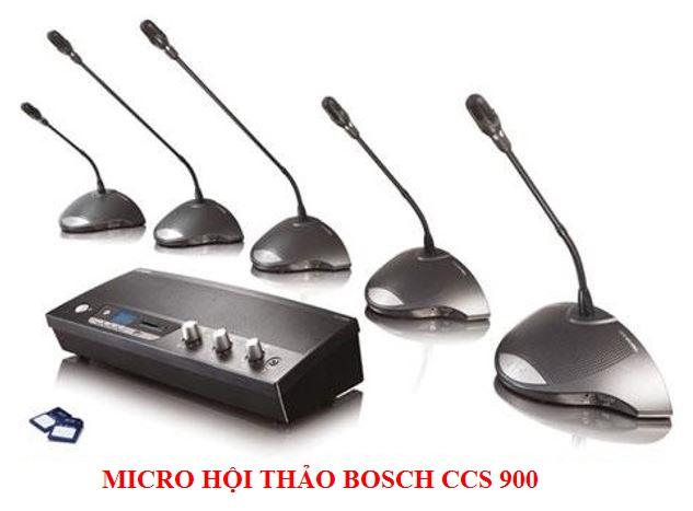 Hệ thống hội thảo Bosch CCS-900 chuẩn, giá gốc