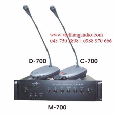 Hệ thống hội thảo Ekars M700 – Thiết bị hội thảo chuyên nghiệp cao cấp