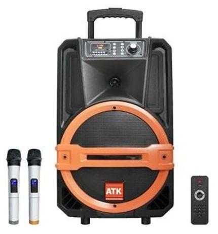 Loa kéo di động bass 20cm, công suất 200W chất lượng tốt, giá rẻ ATK S-408