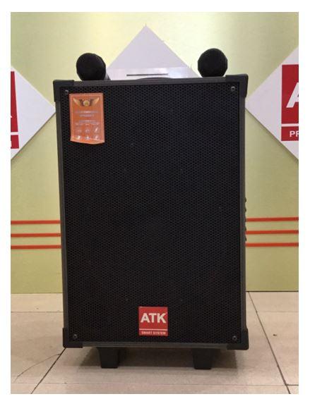 Loa kéo di động bass 25cm, công suất 200W ATK S-225