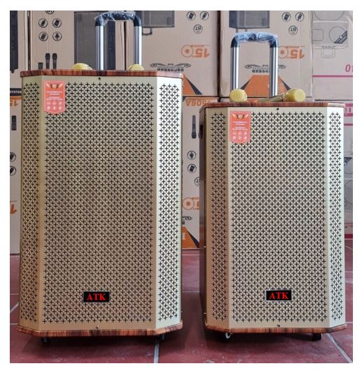 Loa kéo di động bass 30cm, công suất 300W ATK S-230