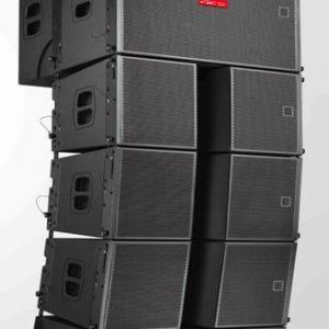 Loa line array 2 bass 10cm AAV LS-204/SW-12