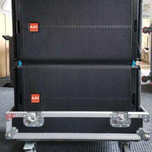 Loa line array bass 40cm Active AAV LS-15A/SW-218A