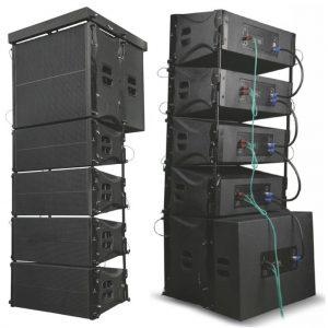 Loa line array chất lượng cao, giá rẻ, chuyên dùng cho âm thanh hội trường, sân khấu, tiệc cưới, tổ chức sự kiện, quán bar, vũ trường