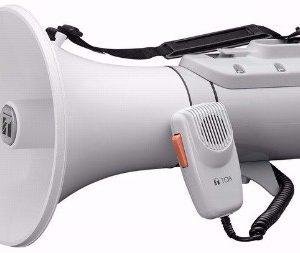 Loa cầm tay 23W – Loa phóng thanh giúp âm thanh mạnh mẽ vang xa hơn