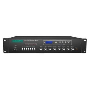 Tăng âm truyền thanh 120W cao cấp AAV-MP212U, USB/SD/FM