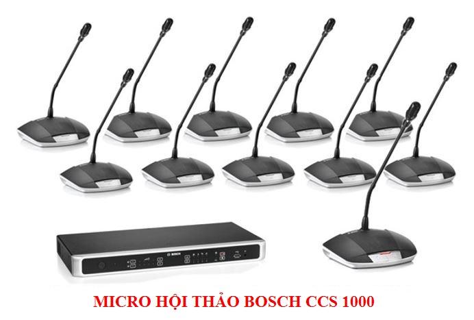 Hệ thống hội thảo kỹ thuật số Bosch CCS-1000D chất lượng cao, giá tốt nhất