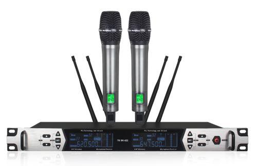 Micro không dây TK SK-422 chuyên nghiệp, độ nhạy cao, hát hay