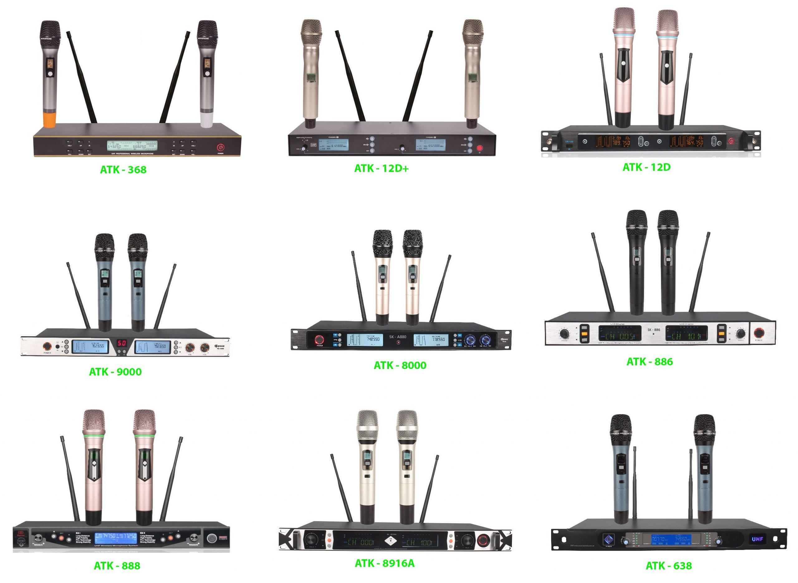 Micro Hát Karaoke Hay Nhất – Âm Thanh Chuẩn – Giá Tốt